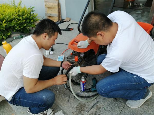 在使用电驱动高压清洗机过程中常见的几种故障原因分析